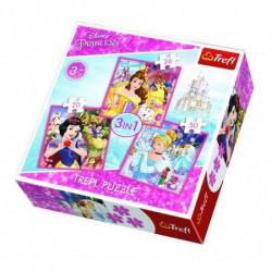 Slagalica 3 u 1 Princess ( 12-348330 )