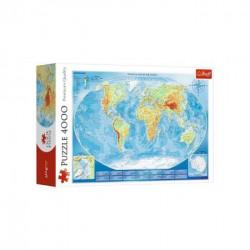 Slagalica 4000 Karta sveta ( 12-450070 )