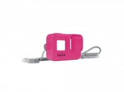 Sleeve + Lanyard (HERO8 Black) Electric Pink ( AJSST-007 )