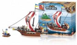Sluban kocke, piratski ratnički brod, 226 kom ( A016012 )
