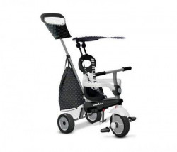 Smart Trike Tricikli Vanilla - crno beli ( 6652400 )