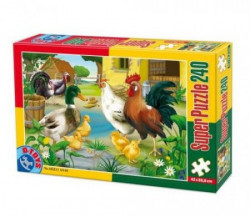Super Puzzle 240PCS ANIMALS 01 ( 07/60211-01 )