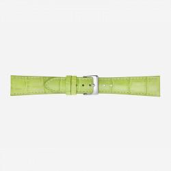 Svetlo Zeleni Poletto Glossy Antiqua Calf Kožni Kaiš Za Sat