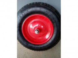Točak za kolica 3.50-8 sa punom PU gumom, čelična felna sa ležajevima ( 530129 )