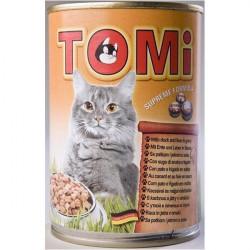 Tomi hrana za mačke pačetina/jetra 400g ( TM43012 )