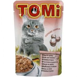 Tomi hrana za mačke teletina/curetina 100g ( TM43008 )