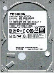 "Toshiba HDD 2.5"" 500GB MQ01ABD050V 5400RPM 16MB 9.5mm SATA (1699).. refurbished 2y"