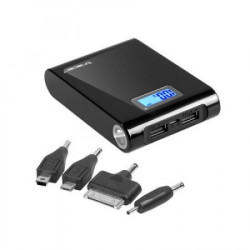 Tracer mobilna baterija 10400 mah crna led display+svetlo! ( 2187 )