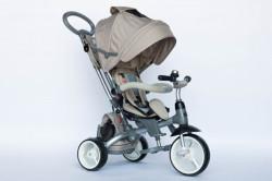 Tricikl za decu Moddy sa rotirajućim sedištem - Krem ( Moddy-1 )