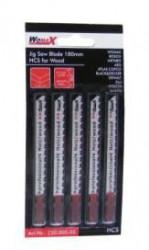 Womax list testere za ubodnu testeru 100mm HCS za drvo 5 kom ( 73000505 )