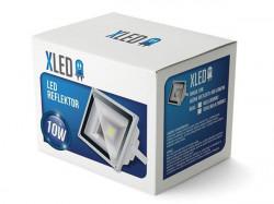 Xled G7002002 Led reflektor 10W, Beli, IP 65, AC85-265V