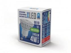 Xled Led sijalica GU10 - 4W 220V Toplo bela 3000K ( GU10 4W )