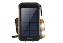 Xwave Camp L 80 black-orange solar power bank 8000mAh