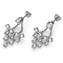 Ženske Oliver Weber Effect Crystal mindjuše sa swarovski belim kristalom