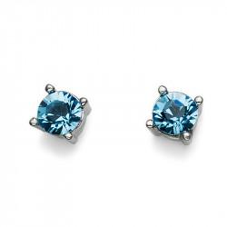 Ženske Oliver Weber Sweet Aqua mindjuše sa swarovski plavim kristalom