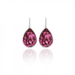 Ženske Victoria Cruz Essential Rose Mindjuše Sa Swarovski Roze Kristalom