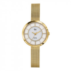 Ženski Girl Only Eblouis moi Zlatni Elegantni ručni sat sa zlatnim pancir metalnim kaišem