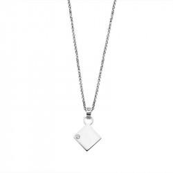 Ženski Lotus Silver Pure Essential Srebrni Lančić Kvadrat