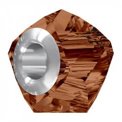 Ženski Oliver Weber Helix Large smoked Topaz privezak sa swarovski braon kristalom za narukvicu