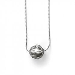 Ženski Oliver Weber Sugar Black Diamond Lančić Sa Swarovski Sivim Kristalnim Priveskom