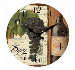 Zidni sat Enjoy Wine 30cm ( 203268 )