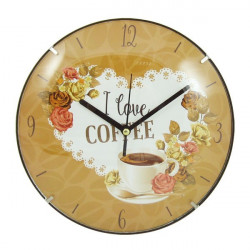 Zidni sat I Love Coffee R20cm ( 35849_4 )