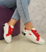 "Tenisi ""Madison"" COD: 18-27 White/Red"
