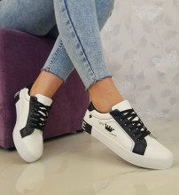 "Tenisi ""Madison"" COD: 18-27 White/Black"