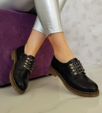 "Mocasini ""Nancy"" COD: FR192 Black"