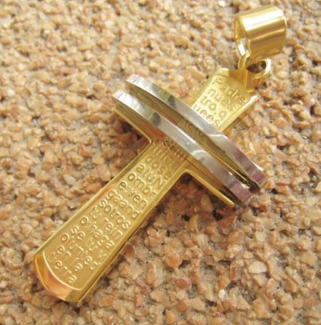 Medalion INOX  ( otel inoxidabil ) cod mihasem288