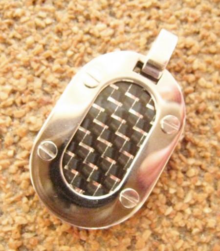 Medalion INOX  ( otel inoxidabil ) cod mihasem689