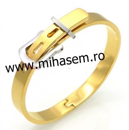Bratara  catusa INOX  placat  ( otel inoxidabil ) cod mihasem645