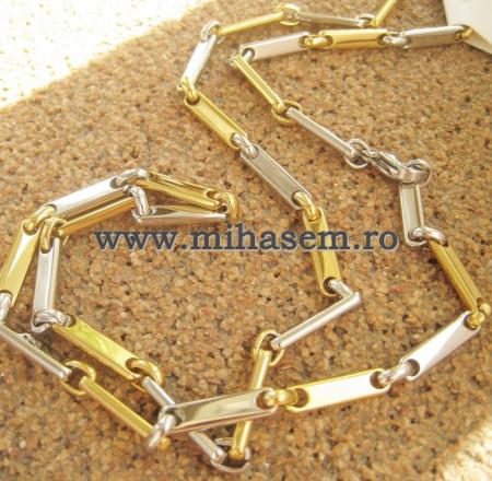 Lant   INOX  placat  ( otel inoxidabil ) cod mihasem503