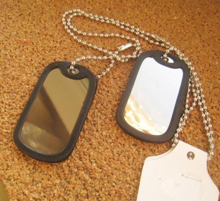 Lant +2 medalioane INOX ( otel inoxidabil ) cod mihasem588
