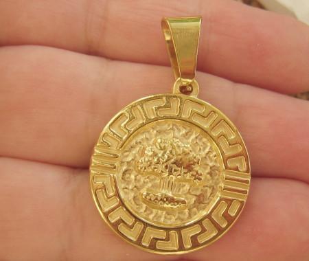 Medalion INOX  ( otel inoxidabil ) cod mihasem386