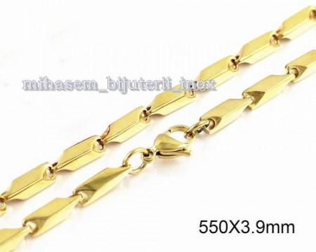 Lant  INOX placat  ( otel inoxidabil ) cod mihasem357