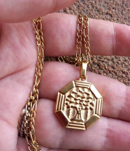 Lant +medalion INOX dama ( otel inoxidabil ) cod mihasem634