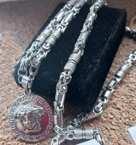 Lant +medalion INOX ( otel inoxidabil ) cod mihasem827