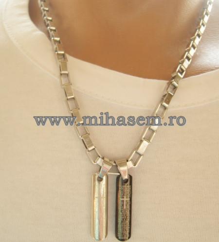 Lant   +medalion INOX  ( otel inoxidabil ) cod mihasem482
