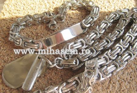 SET Lant +medalion+bratara INOX  ( otel inoxidabil ) cod mihasem494