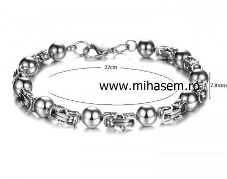 Bratara INOX ( otel inoxidabil ) cod mihasem417