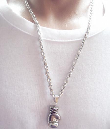 Lant   + medalion INOX  ( otel inoxidabil ) cod mihasem592