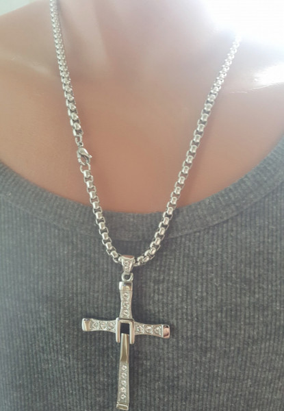 Lant +medalion INOX ( otel inoxidabil ) cod mihasem600
