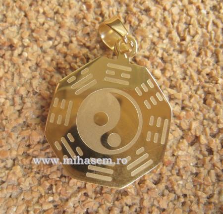 Medalion INOX  ( otel inoxidabil ) cod mihasem297