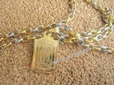 Lant +medalion INOX  ( otel inoxidabil ) cod mihasem265