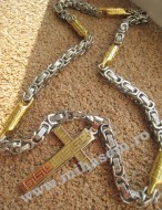 Lant +medalion INOX  ( otel inoxidabil ) cod mihasem159