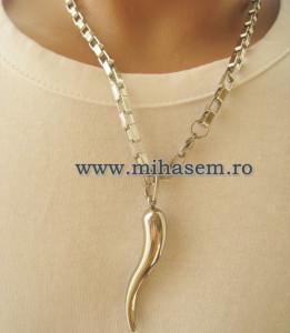 Lant   +medalion INOX  ( otel inoxidabil ) cod mihasem450