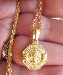 Lant dama +medalion INOX ( otel inoxidabil ) cod mihasem673