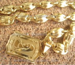 Lant +medalion INOX ( otel inoxidabil ) cod mihasem030