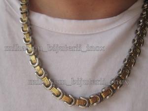 SET Lant +medalion+ bratara INOX  ( otel inoxidabil ) cod mihasem241